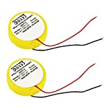 subtel® 2X Batería de Repuesto CP1654, LIR1654 para Bose SoundSport Pulse, SoundSport Wireless, Accu Auriculares inalambricos 60mAh